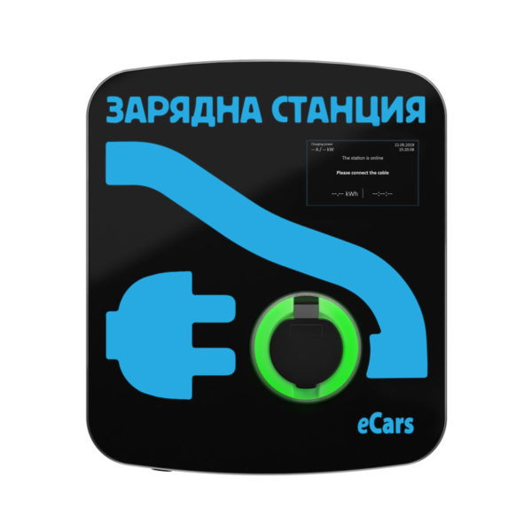 eCars Зарядна станция ИДА Смарт Polaris Metal